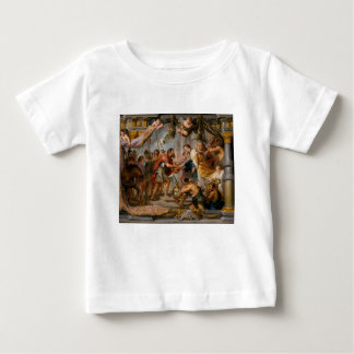 The Meeting of Abraham and Melchizedek Rubens Art Baby T-Shirt