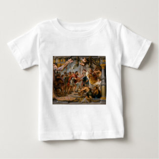 The Meeting of Abraham and Melchizedek Rubens Art Baby T-Shirt