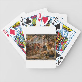 The Meeting of Abraham and Melchizedek Rubens Art Bicycle Playing Cards