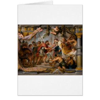 The Meeting of Abraham and Melchizedek Rubens Art Card