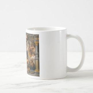 The Meeting of Abraham and Melchizedek Rubens Art Coffee Mug