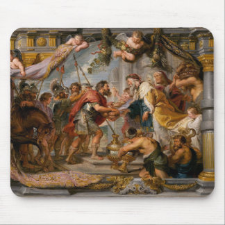 The Meeting of Abraham and Melchizedek Rubens Art Mouse Pad