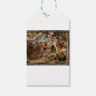 The Meeting of Abraham and Melchizedek Rubens Art Pack Of Gift Tags