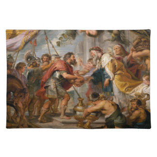 The Meeting of Abraham and Melchizedek Rubens Art Placemat