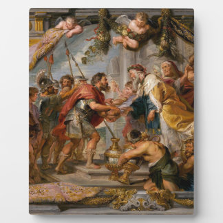 The Meeting of Abraham and Melchizedek Rubens Art Plaque