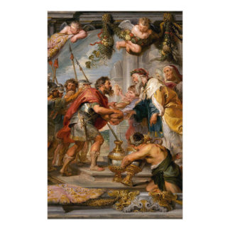 The Meeting of Abraham and Melchizedek Rubens Art Stationery