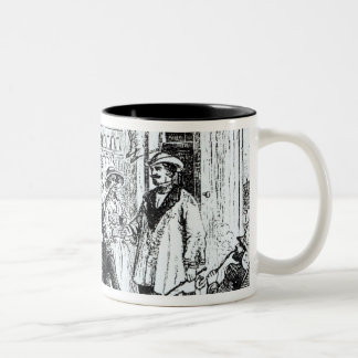 The Meeting of Mary Seacole  and Alexis Soyer Two-Tone Coffee Mug