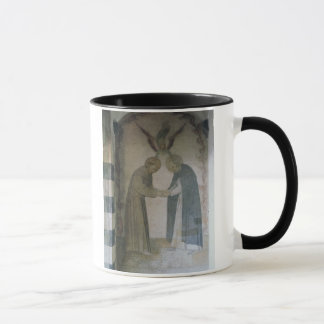 The Meeting of St. Dominic and St. Francis (fresco Mug