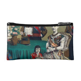 The Meiji Emperor of Japan and the Imperial Family Makeup Bags