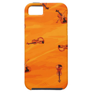 The Melody of Love: Violin Patterns iPhone 5 Case