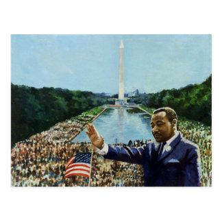 The Memorial Speech 2001 Postcard