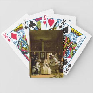 The Meninas Bicycle Playing Cards