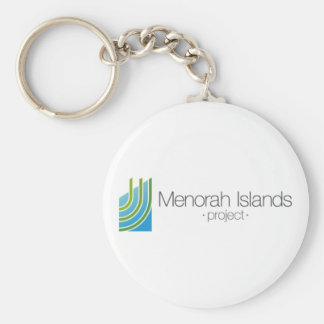 The Menorah Islands Project Keychain
