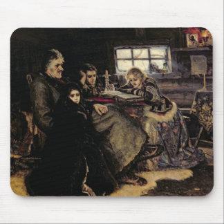 The Menshikov Family in Beriozovo, 1883 Mouse Pad