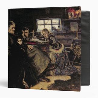 The Menshikov Family in Beriozovo, 1883 Vinyl Binder