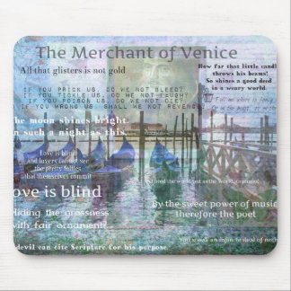 The Merchant of Venice Shakespeare quotes Mouse Pad