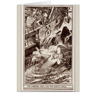 The Mermaid and the King, Card