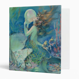 The Mermaid by Henry Clive Vinyl Binders