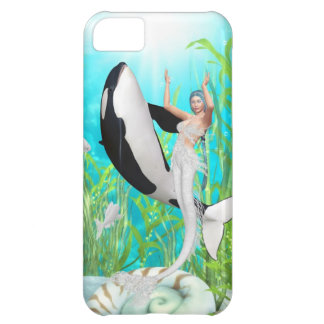 The Mermaid Dance With An Orca iPhone 5 Cases