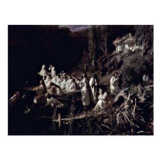 The Mermaids By Ivan Nikolaevich Kramskoi (Best Qu Postcard