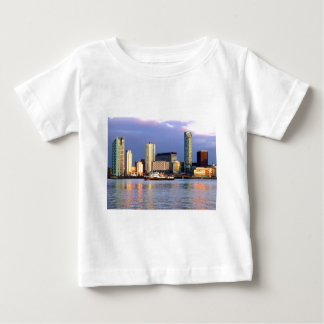 The Mersey Ferry & LIverpool Waterfront Baby T-Shirt