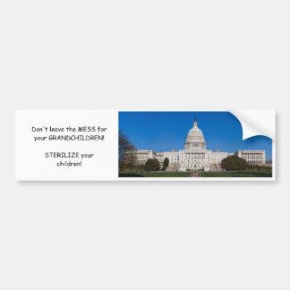 The MESS in D.C. Bumper Sticker
