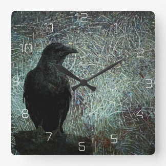 The Messenger ID249 Square Wall Clock