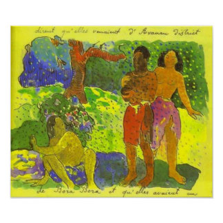 'The Messengers of Oro' - Paul Gauguin Print