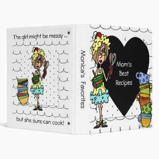 The Messy Cook Recipe Binder