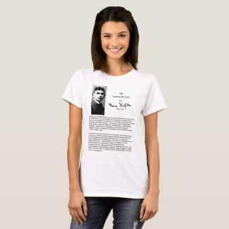The Metamorphosis: Franz Kafka T-Shirt