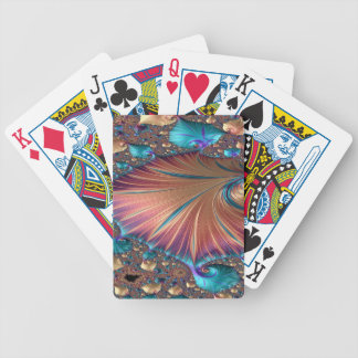 The Metamorphosis of Love Fractal Abstract design Bicycle Playing Cards