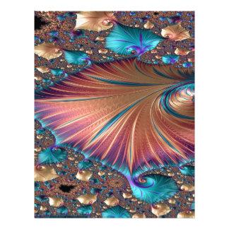The Metamorphosis of Love Fractal Abstract design Letterhead