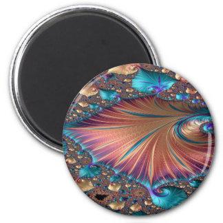 The Metamorphosis of Love Fractal Abstract design Magnet