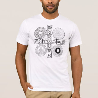 The Metaphysical Calendar Key t-shirt (front+back)