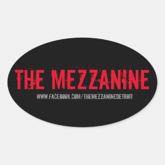 The Mezzanine Official Sticker