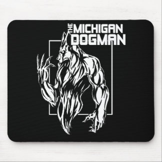 The Michigan Dogman Mouse Pad
