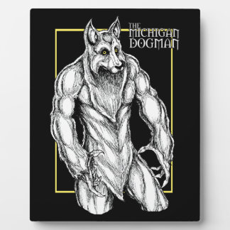 The Michigan Dogman Plaque