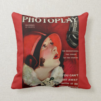 The Microphone Accent Pillow