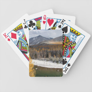 The Middle Fork Of The Flathead River Bicycle Playing Cards