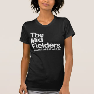 The Midfielders US Women's Soccer T-Shirt