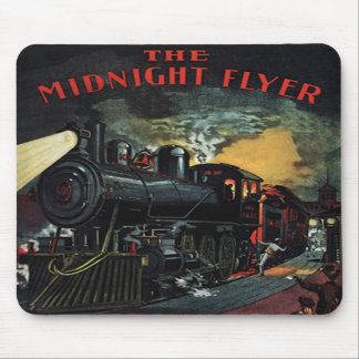 The Midnight Flyer Train Mousepad