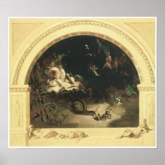 The Midsummer Night's Fairies, 1847 Print