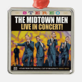THE MIDTOWN MEN - LIVE IN CONCERT ORNAMENT