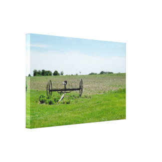 The Midwest, Farm Photography Canvas Print