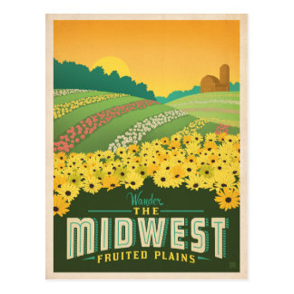 The Midwest | United States Postcard