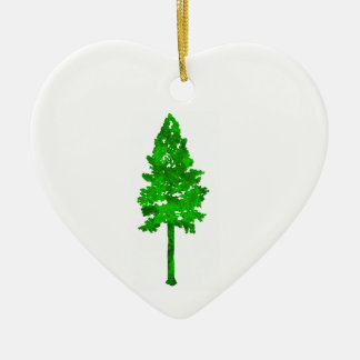 The Mighty Fortress Ceramic Heart Ornament
