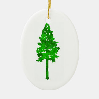 The Mighty Fortress Ceramic Oval Ornament