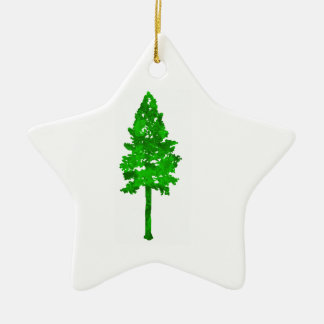The Mighty Fortress Ceramic Star Ornament