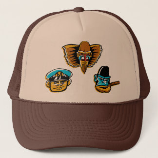 The Mighty Monkey-Men Trucker Hat