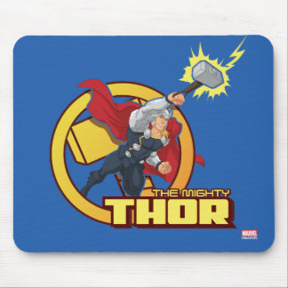 The Mighty Thor Character Graphic Mouse Pad